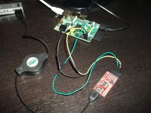 Conectare pe portul serial la Raspberry Pi