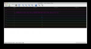 OpenBench Logic Sniffer UART Capture